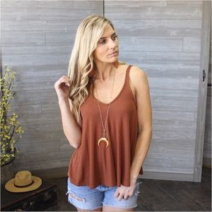 Copper Ribbed Ribbed Swing Top